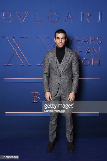 Mario Casas attends the Bvlgari BZERO1 XX Anniversary Global Launch Event at Auditorium Parco Della Musica on February 19 2019 in Rome Italy