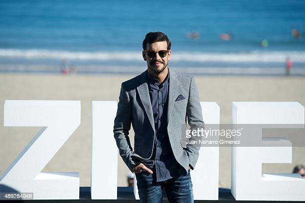 Mario Casas attends the 'Mi Gran Noche' photocall during 63rd San Sebastian Film Festival on September 20 2015 in San Sebastian Spain