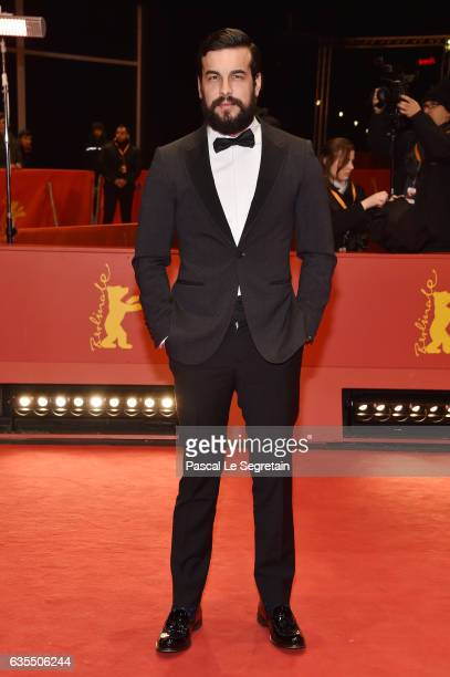 Mario Casas attends the 'The Bar' premiere during the 67th Berlinale International Film Festival Berlin at Berlinale Palace on February 15 2017 in...
