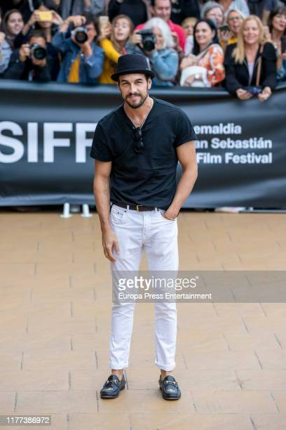 Mario Casas is seen arriving at 67th San Sebastian International Film Festival on September 26 2019 in San Sebastian Spain