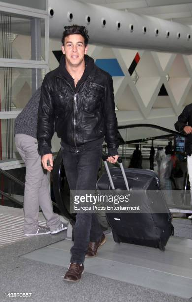 Mario Casas is seen on April 29 2012 in Madrid Spain