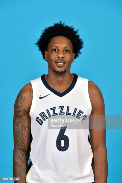 Mario Chalmers of the Memphis Grizzlies poses for a head shot during Media Day on September 25 2017 at FedExForum in Memphis Tennessee NOTE TO USER...
