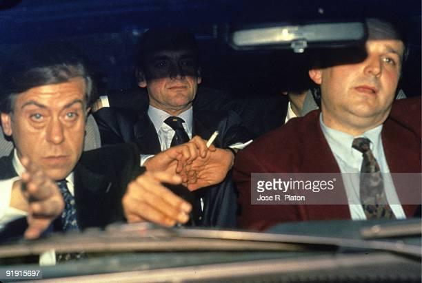 Mario Conde is conduced to Alcala Meco prison
