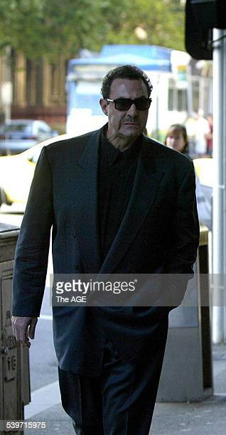 Mario Condello arrives at the Melbourne Magistrates court to hear a remand hearing for Mick Gatto Gatto has been charged with the murder of Andrew...