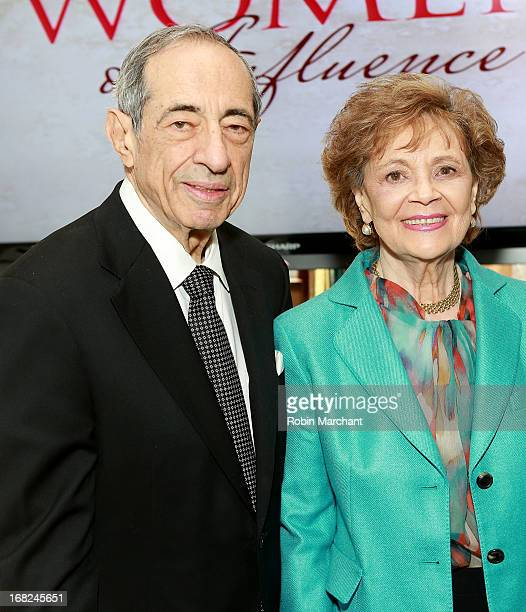 Mario Cuomo and Matilda Cuomo attend 2013 TJ Martell Foundation's Women Of Influence Awards And Luncheon at Riverpark on May 7 2013 in New York City
