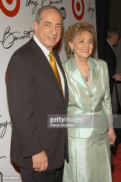 Mario Cuomo and Matilda Cuomo attend TARGET Honors TONY BENNETT for his 80TH BIRTHDAY Celebration at The American Museum of Natural History on August...