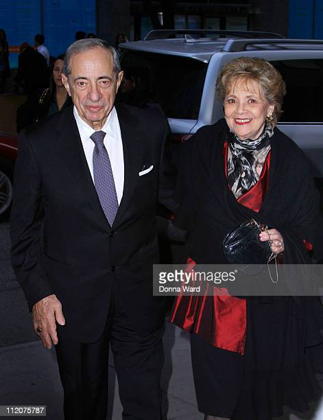 Mario Cuomo and Matilda Cuomo attend the New York Premiere of The Conspirator at The Museum of Modern Art on April 11 2011 in New York City