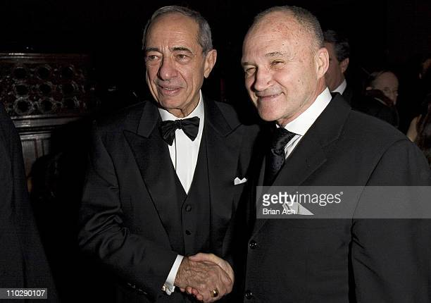 Mario Cuomo and Ray Kelly during 13th Annual Living Landmarks Gala Benefiting the New York Landmarks Conservancy at Cipriani in New York City New...
