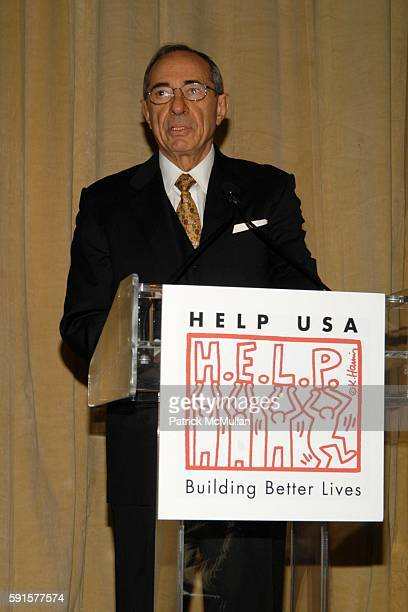Mario Cuomo attends HELP USA 2005 Domestic Abuse Survivors Scholarship Luncheon at The Pierre on December 13 2005 in New York City