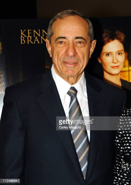 Mario Cuomo during Warm Springs New York Premiere at Time Warner Theater in New York City New York United States
