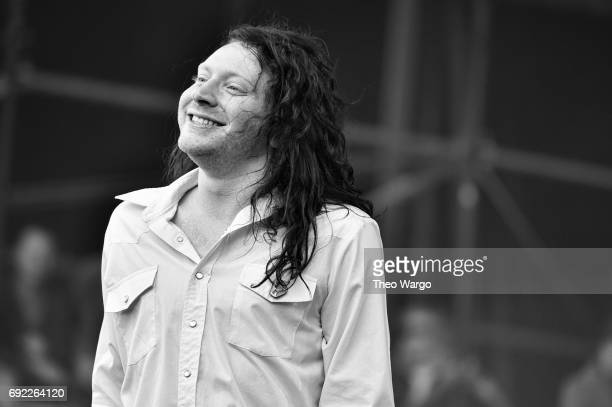 Mario Cuomo of The Orwells performs onstage during the 2017 Governors Ball Music Festival Day 3 at Randall's Island on June 4 2017 in New York City