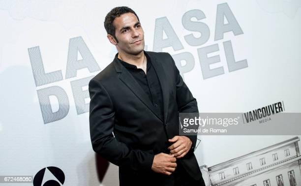 Mario de la Rosa attends 'La Casa de Papel' Madrid Premiere on April 24 2017 in Madrid Spain