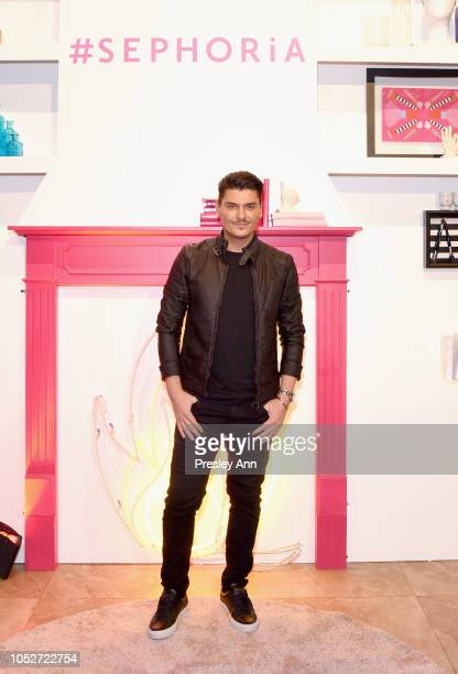 Mario Dedivanovic attends SEPHORiA House of Beauty Session Four at The Majestic Downtown on October 21 2018 in Los Angeles California