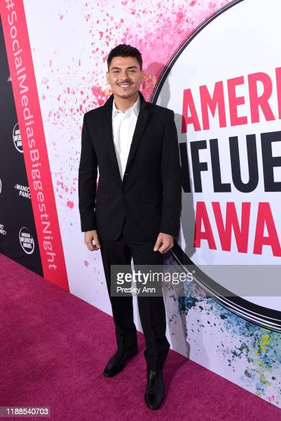 Mario Dedivanovic attends the 2nd Annual American Influencer Awards at Dolby Theatre on November 18 2019 in Hollywood California