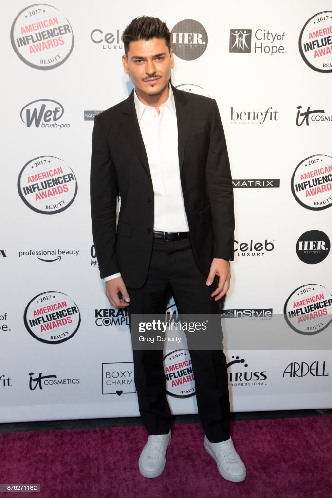 Mario Dedivanovic attends the American Influencer Award at The Novo by Microsoft on November 18, 2017 in Los Angeles, California.