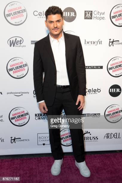 Mario Dedivanovic attends the American Influencer Award at The Novo by Microsoft on November 18 2017 in Los Angeles California
