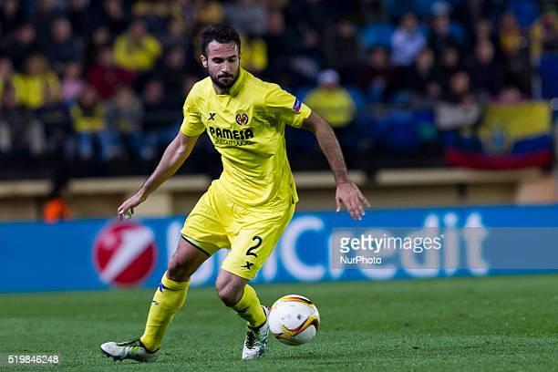 02 Mario del Villarreal CF during UEFA Europa League quarterfinals first leg match between Villarreal CF v Sparta Prague at El Madrigal Stadium in...