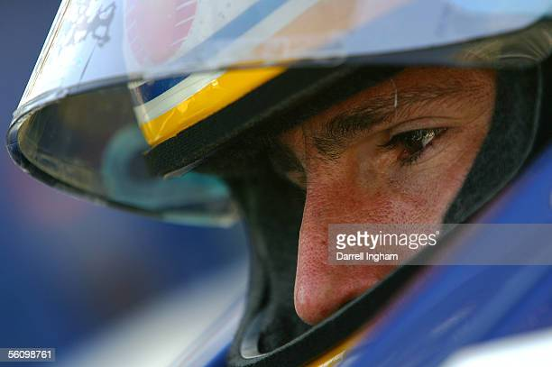 Mario Dominguez driver of the Indeck Forsythe Racing Lola Ford Cosworth during practice for the ChampCar World Series Gran Premio TelmexTecate on...