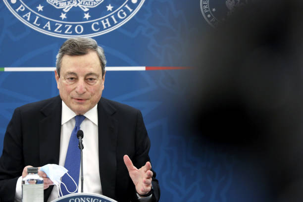 ITA: Italy's Prime Minister Mario Draghi News Conference