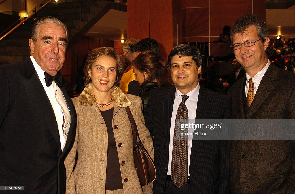 Mario D Urso Regina Luongo Dr Roberto Luongo And Claudio Del