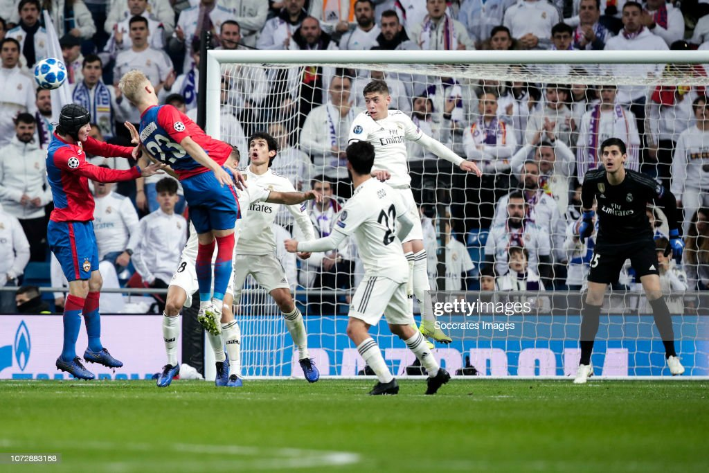 Real Madrid v CSKA Moskou - UEFA Champions League : News Photo