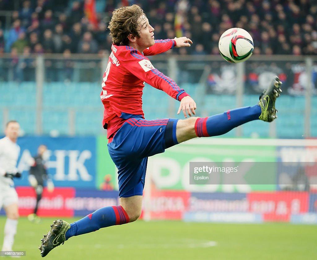 CSKA Moscow v PFC Krylya Sovetov Samara - Russian Premier League