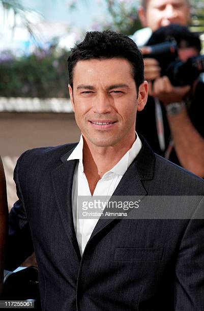 Mario Frangoulis during 2004 Cannes Film Festival De Lovely Photocall in Cannes France