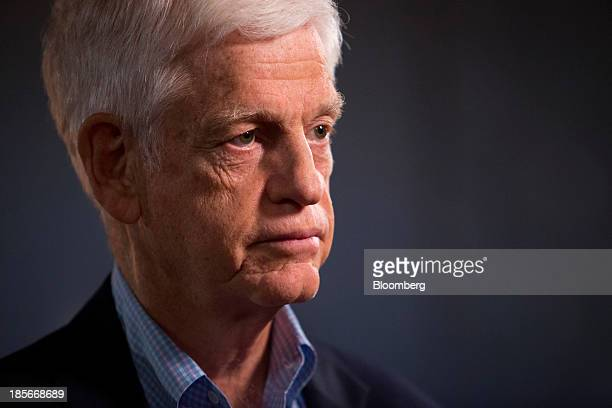 Mario Gabelli chairman and chief executive officer of Gamco Investors Inc speaks during a Bloomberg Television interview in Atlantic City New Jersey...