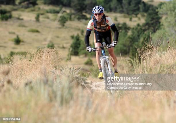 Mario Gambacorta rides the Coal Seam Trail in the Marshall Mesa area on Thursday morning The city of Boulder's open space department is going through...
