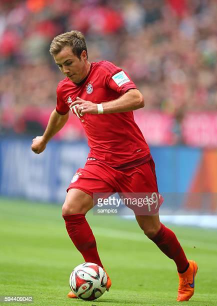 Mario Goetze Götze FC Bayern München deutscher Fussball Meister 2015 FC Bayern München Meisterschaft FC Bayern München Mainz 05 1 Fussball Bundesliga...
