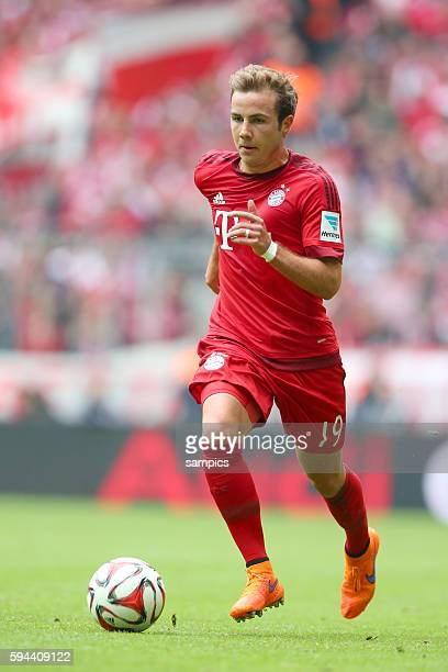 Mario Goetze Götze FC Bayern München FC Bayern München Mainz 05 1 Fussball Bundesliga Saison 2014 / 2015