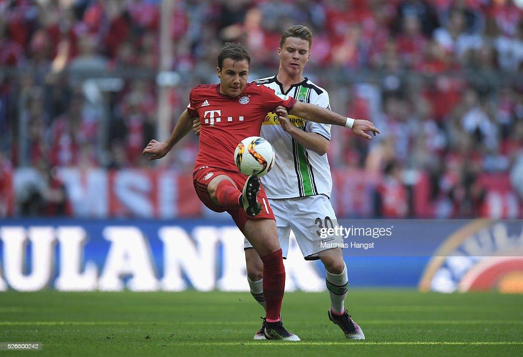 FC Bayern Muenchen v Borussia Moenchengladbach - Bundesliga : News Photo