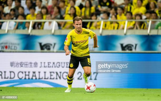 Mario Goetze of Borussia Dortmund during the preseason friendly match between Urawa Red Diamonds and Borussia Dortmund at Saitama Stadium on July 15...