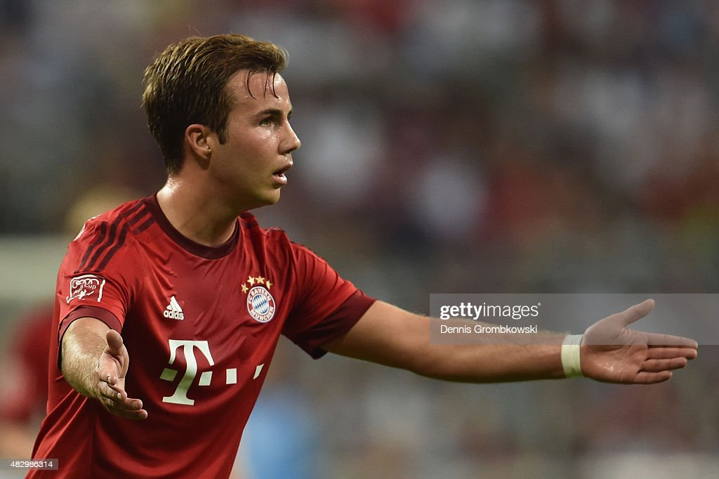 FC Bayern Muenchen v AC Milan  - Audi Cup 2015 : News Photo