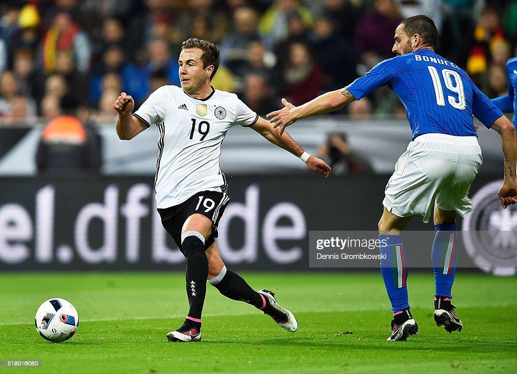 Germany v Italy - International Friendly : Fotografía de noticias