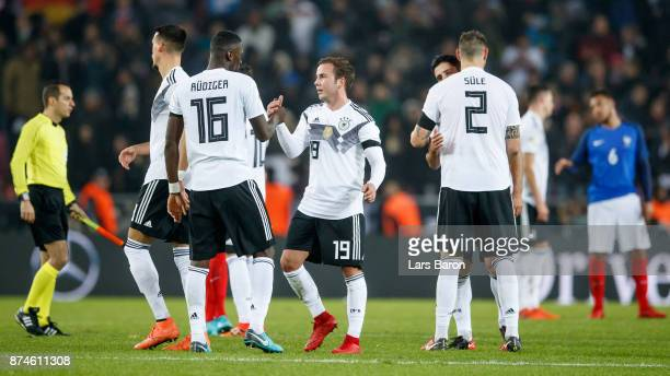 Mario Goetze of Germany is seen after the international friendly match between Germany and France at RheinEnergieStadion on November 14 2017 in...