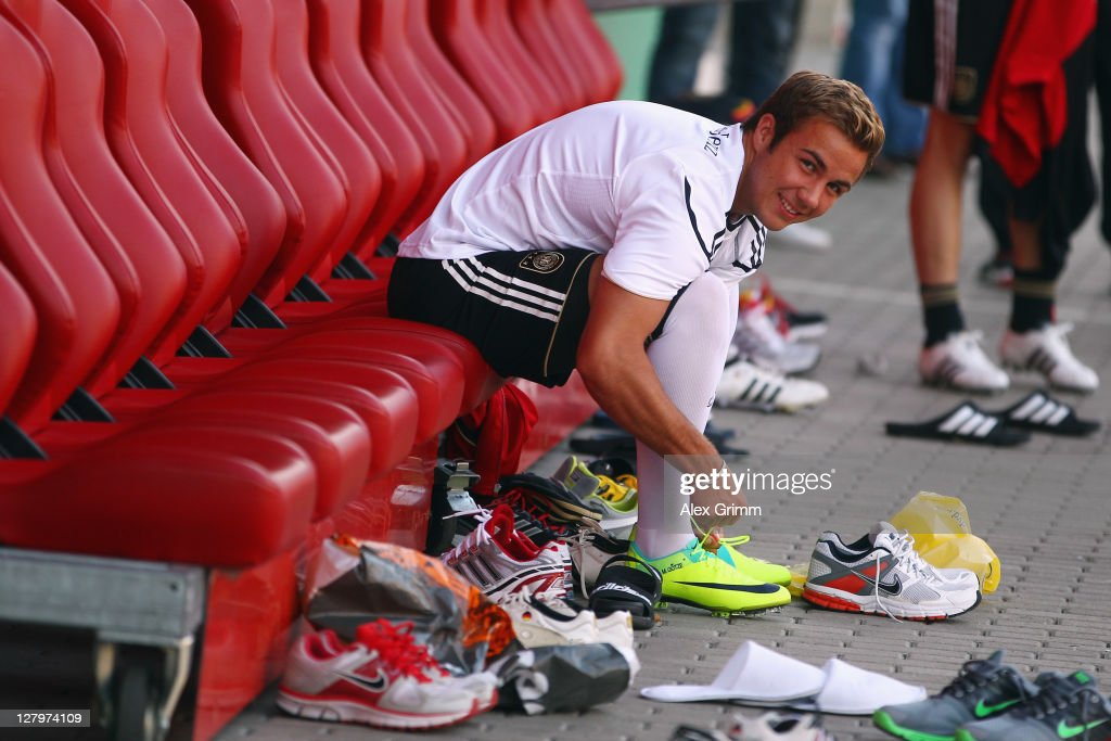 Germany - Press Conference & Training : Nieuwsfoto's