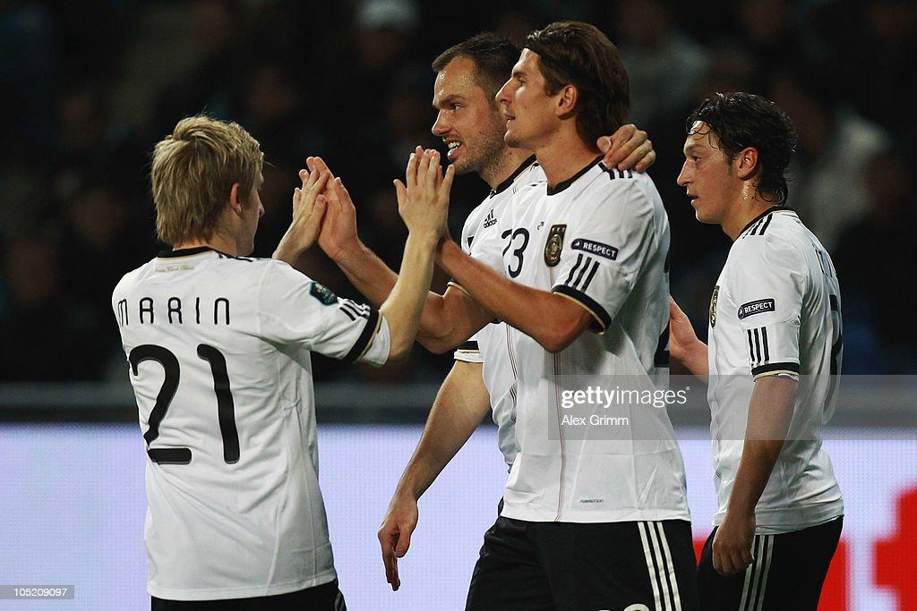 Kazakhstan v Germany - EURO 2012 Qualifier