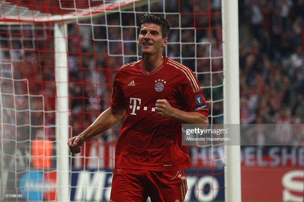 FC Bayern Muenchen v Manchester City FC - UEFA Champions League : News Photo
