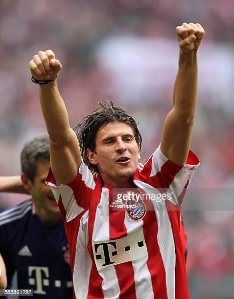 Mario Gomez of Munich