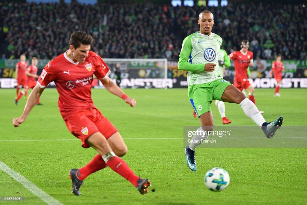 VfL Wolfsburg v VfB Stuttgart - Bundesliga : News Photo