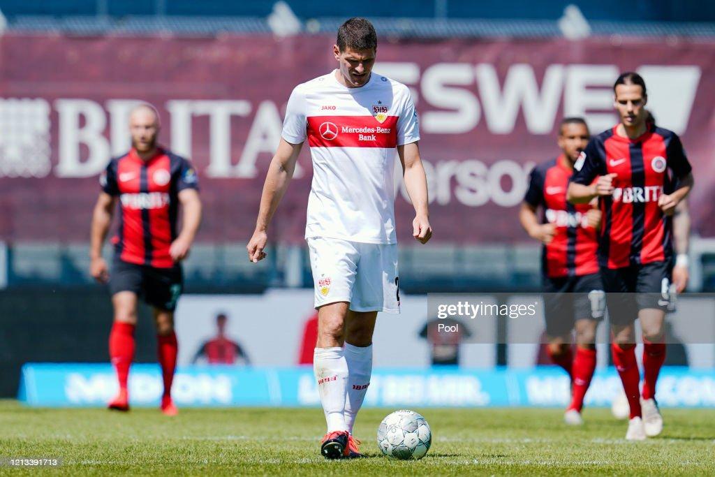 SV Wehen Wiesbaden v VfB Stuttgart - Second Bundesliga : News Photo