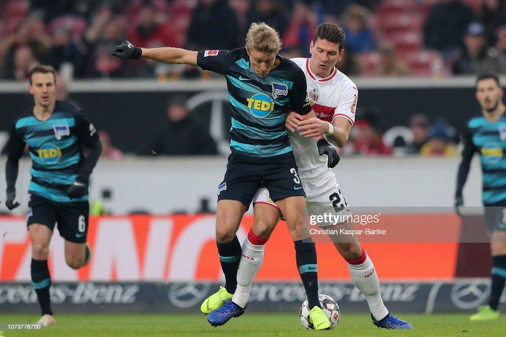 VfB Stuttgart v Hertha BSC - Bundesliga : Nachrichtenfoto