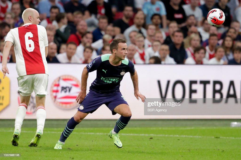 Ajax v PSV - Johan Cruijff Schaal : News Photo
