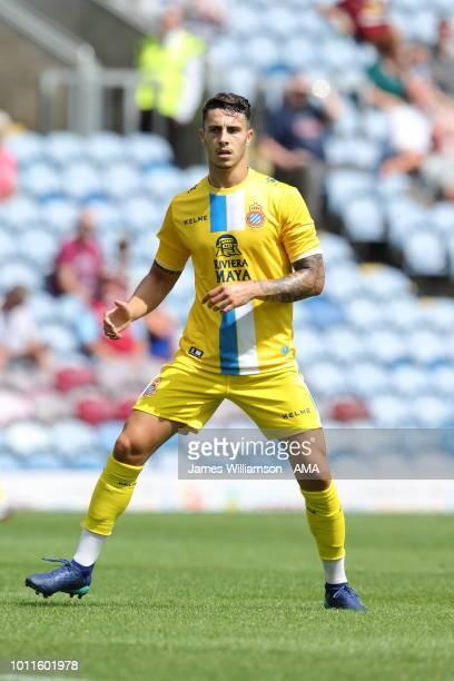Mario Hermoso of Espanyol during the PreSeason Friendly between Burnley and Espanyol at Turf Moor on August 5 2018 in Burnley England