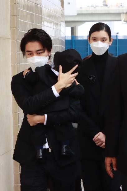CHN: Stanley Ho's Funeral In Hong Kong