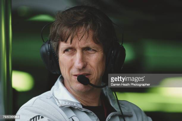 Mario Illien the engine design specialist for Ilmor Engineering during the Formula One Canadian Grand Prix on 15 June 2003 at the Montreal Circuit...