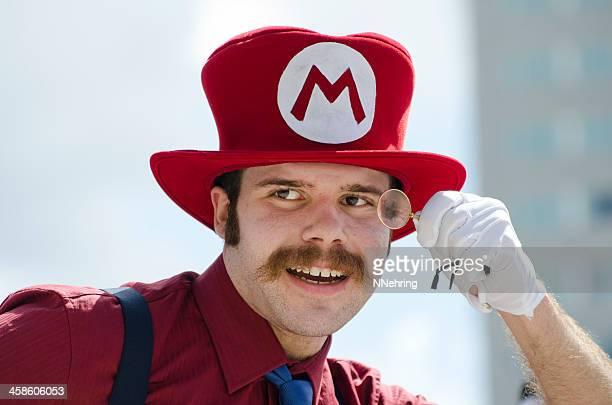 Mario in Zylinderhut