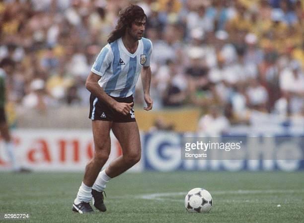 WM 1982 Mario KEMPES / ARG FotoBONGARTS