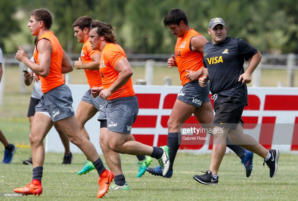 Jaguares Training Session